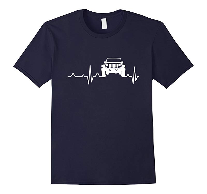 Unlimited Heartbeat Love Jeep T- Shirt-RT