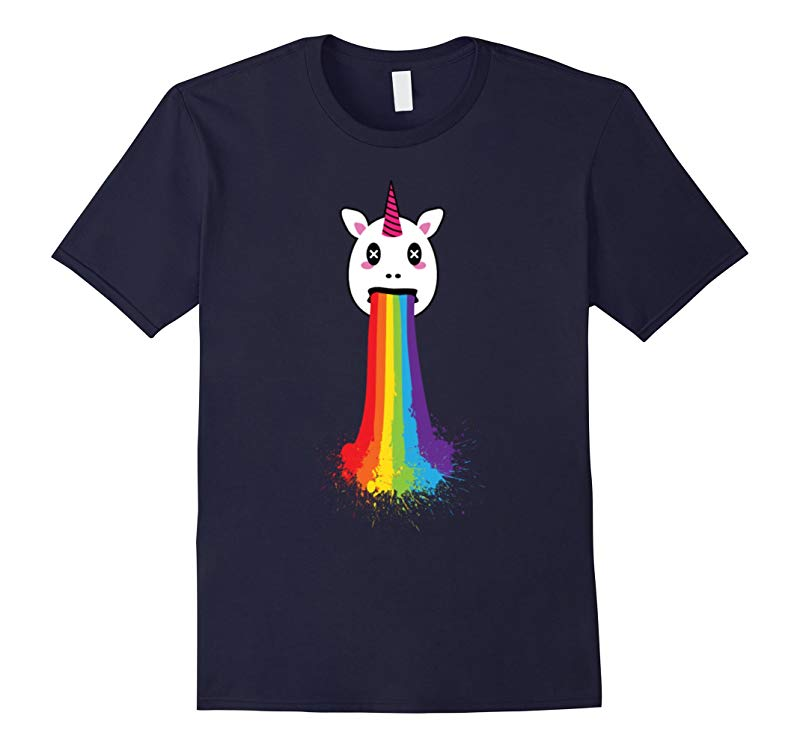 Rainbow Unicorn Funny T-Shirt For LGBT Gay Pride Month 2016-RT