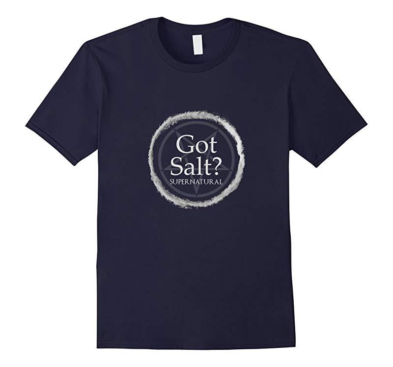 Funny Got Salt Supernatural T-Shirt Salt Circle Lit Gft Tee-RT