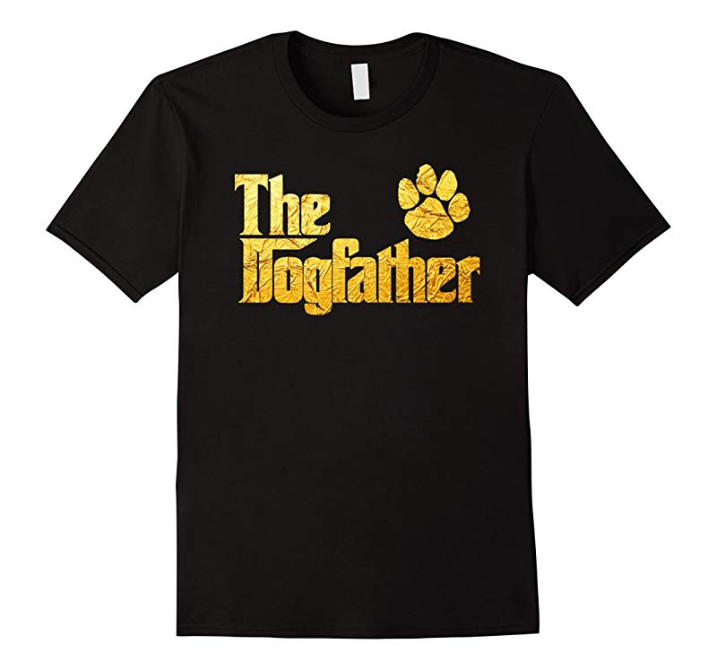 Dog Father Shirts - Dogfather T-Shirt-RT