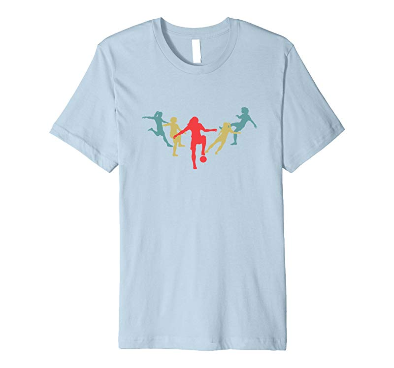 Soccer Gift Ideas for Teens Youth and Girls Premium T-Shirt-BN