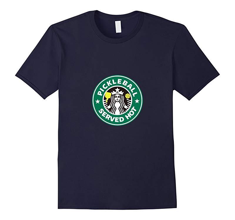 Pickleball T-Shirt Humorous Racquet Bat Ball Siren Logo Tee-RT