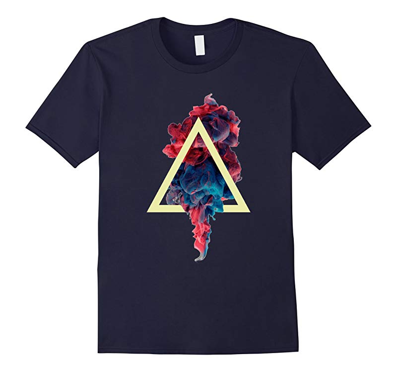 Abstract Color T-shirt-RT
