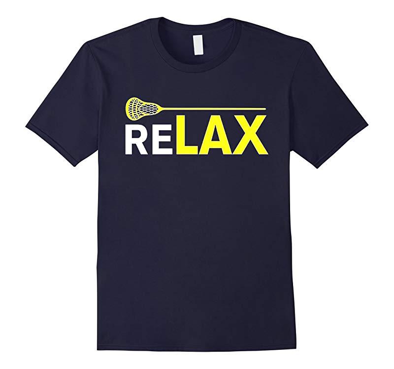Sports Shirts - ReLAX Lacrosse Sticks T-Shirt-RT