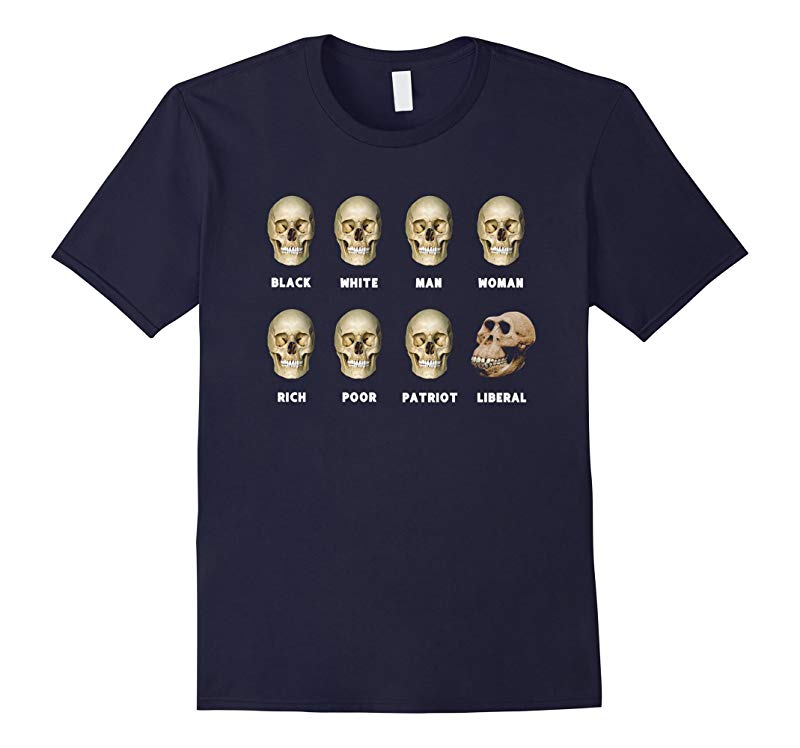 8 Skulls of Modern America Funny Shirt Gift For Fathers day-RT
