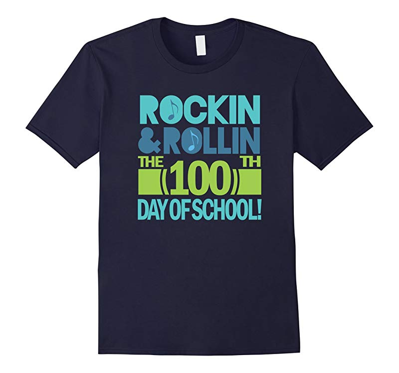 100th Day Of School T-shirt 100 Days Party Celebration-RT