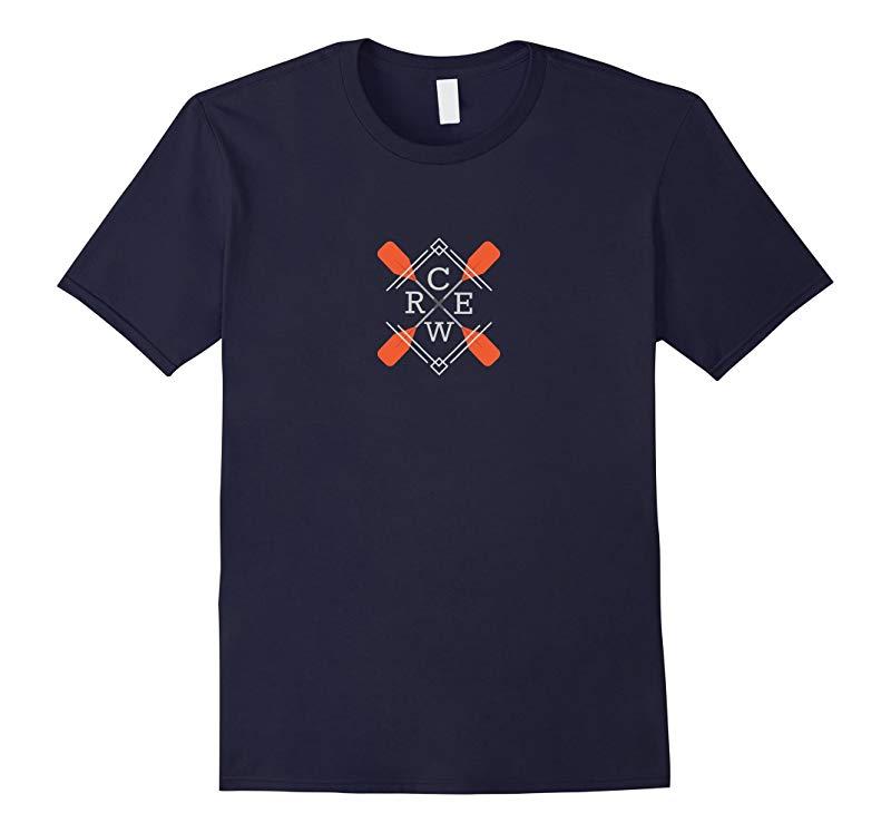 Crew Logo Rowing Orange Paddle-RT