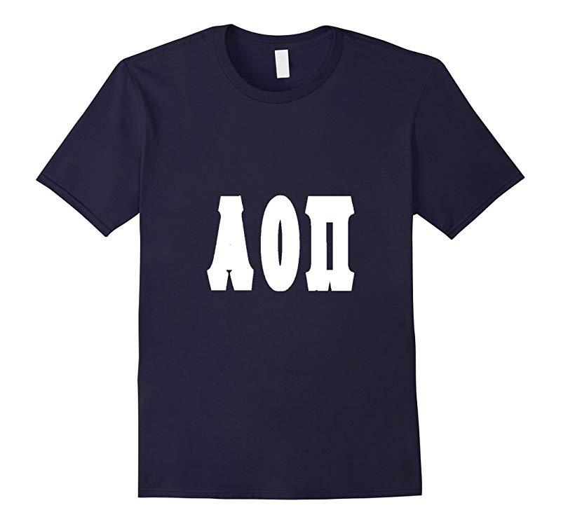 Alpha Omicron Pi T-Shirt White-RT