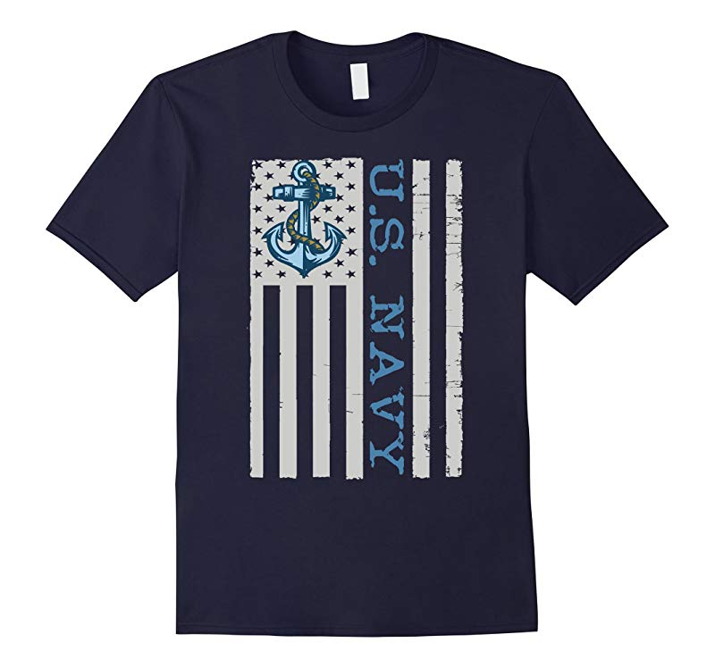 AMERICAN FLAG NAVY SHIRT US NAVY SHIRT NAVY VETERAN-RT