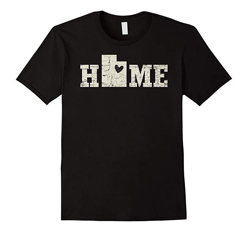 Utah Home Shirt Love Native Born State T-Shirt-CD