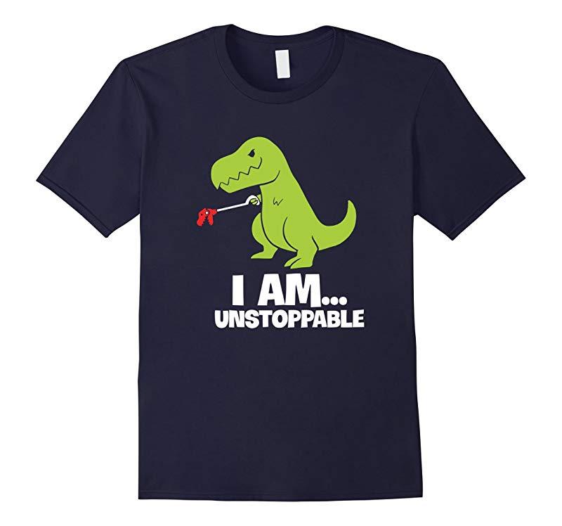 T-rex Shirt I Am Unstoppable T-shirt-RT