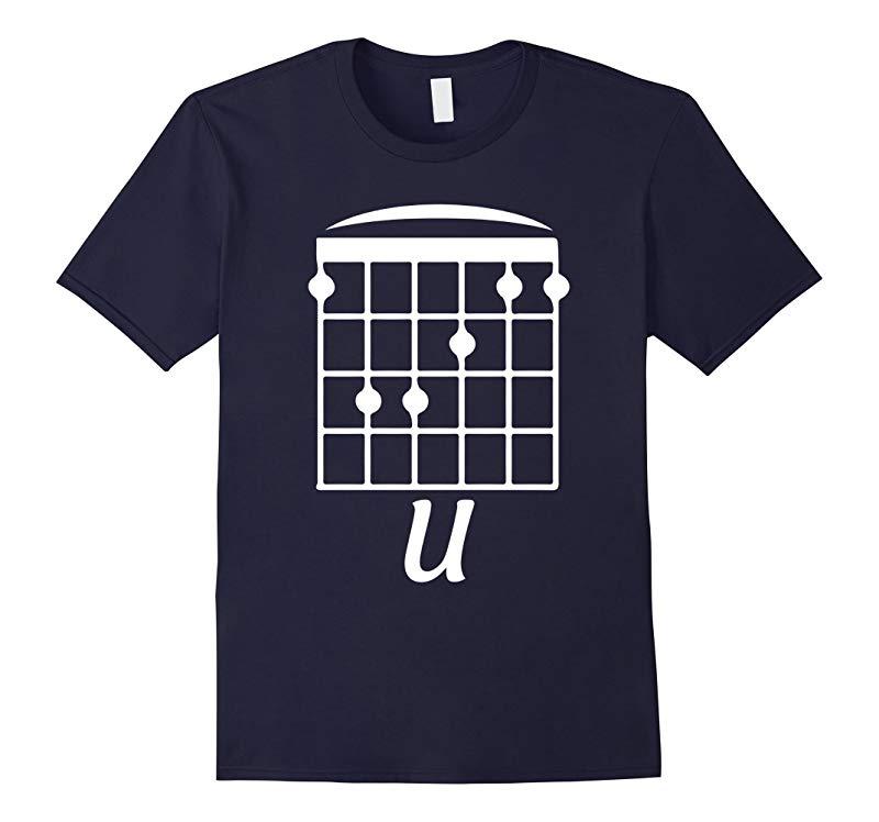 F U F Chord Funny Guitar t shirt-CD