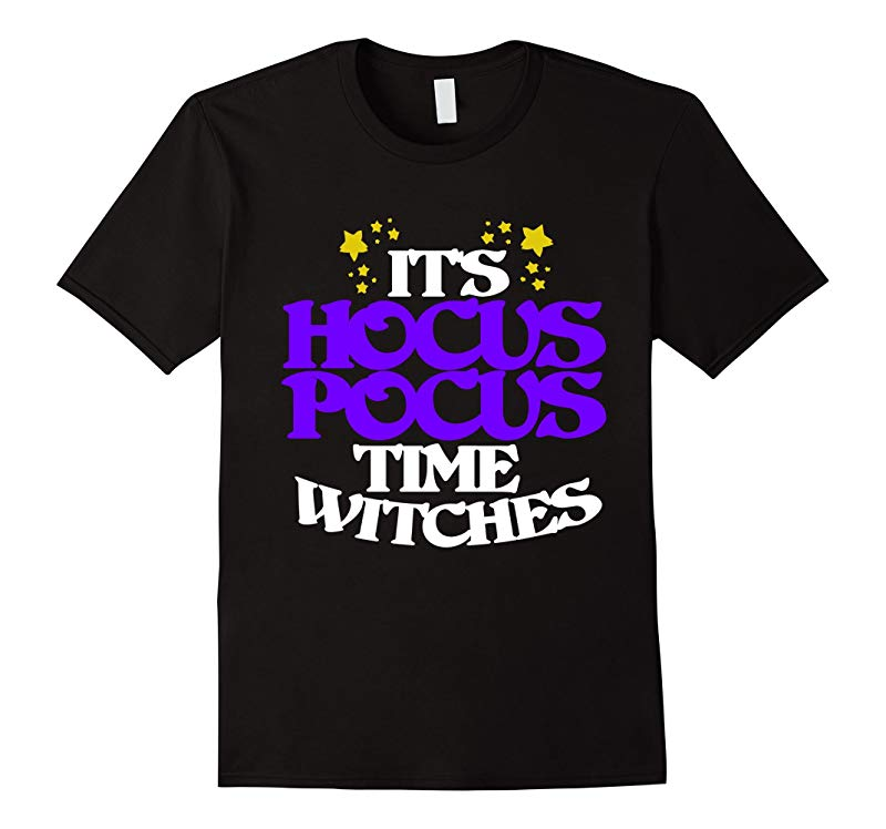 Its hocus Pocus time witches shirt for a halloween party-RT