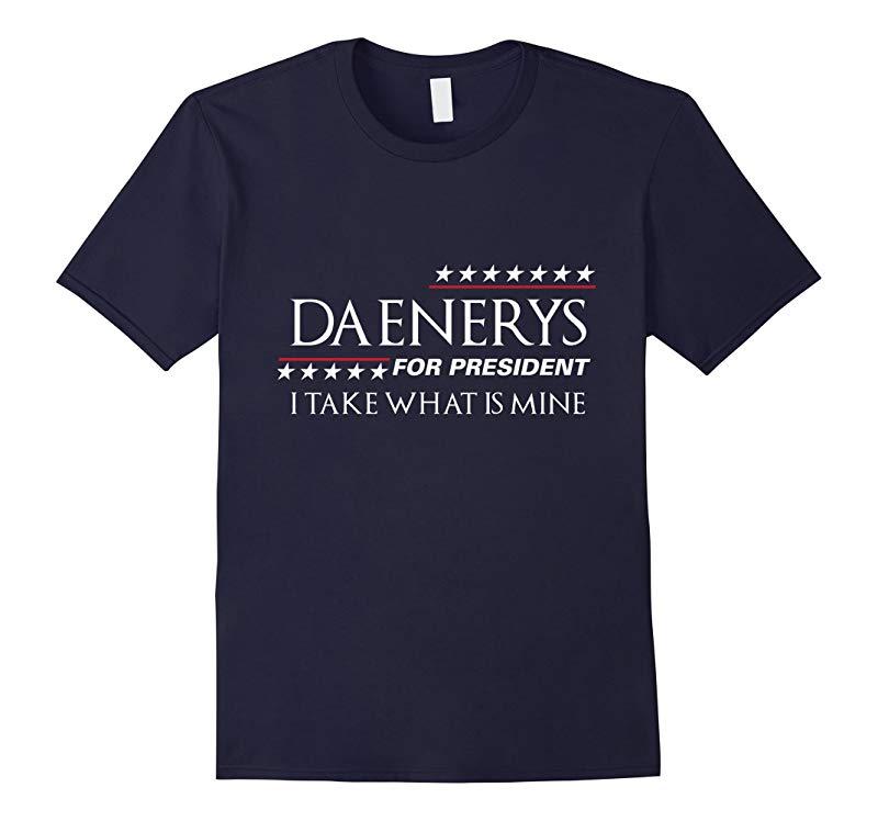 Daenerys For President Election 2016 T-shirt-RT