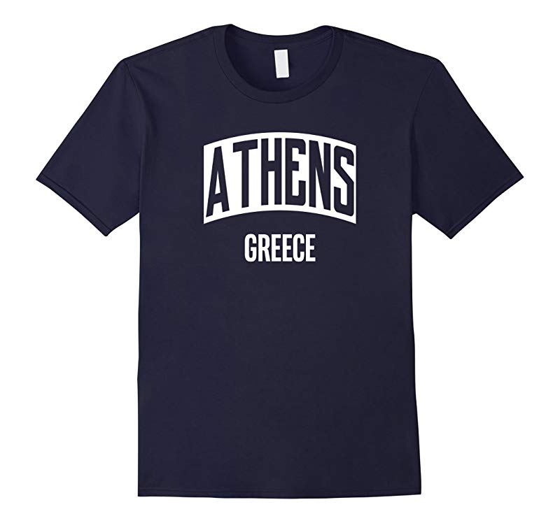 Athens Greece Greek City Vacation Souvenir T-Shirt-RT