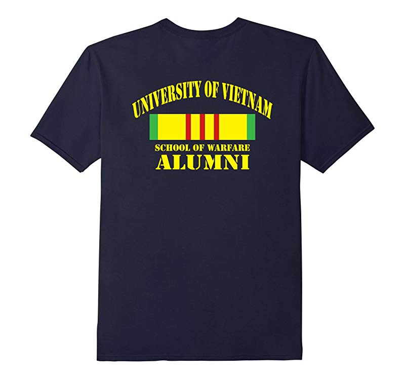 Vietnam Veterans - University of Vietnam school T-shirt-RT
