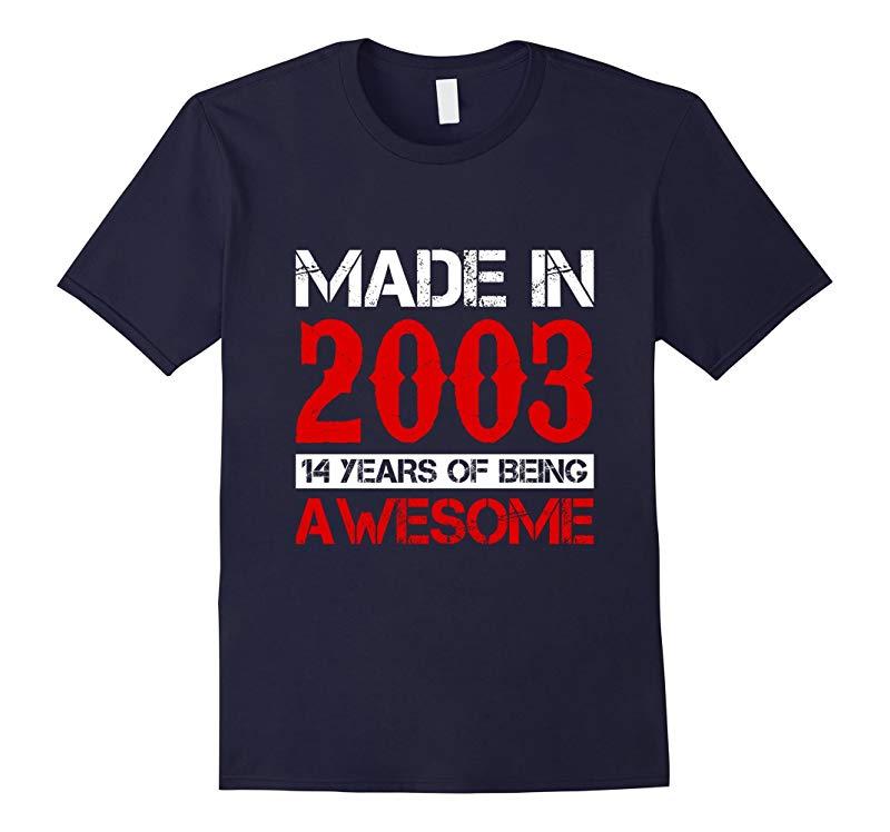 14th Birthday Gift Shirt For A 14 Year Old Boy 0r Girl Shirt-BN