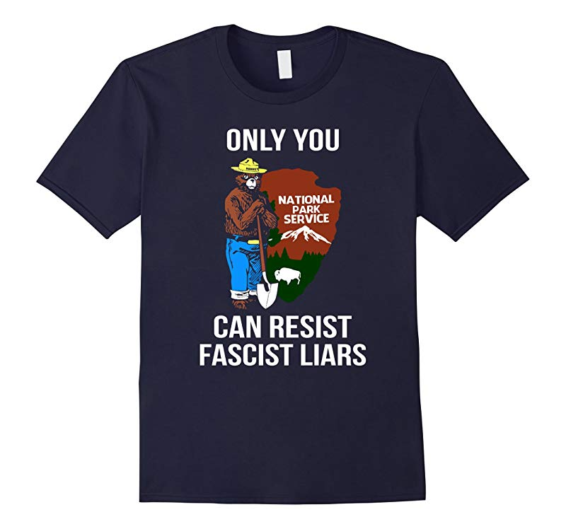 Only You Can-Resist Fascist Liars T-shirt-RT