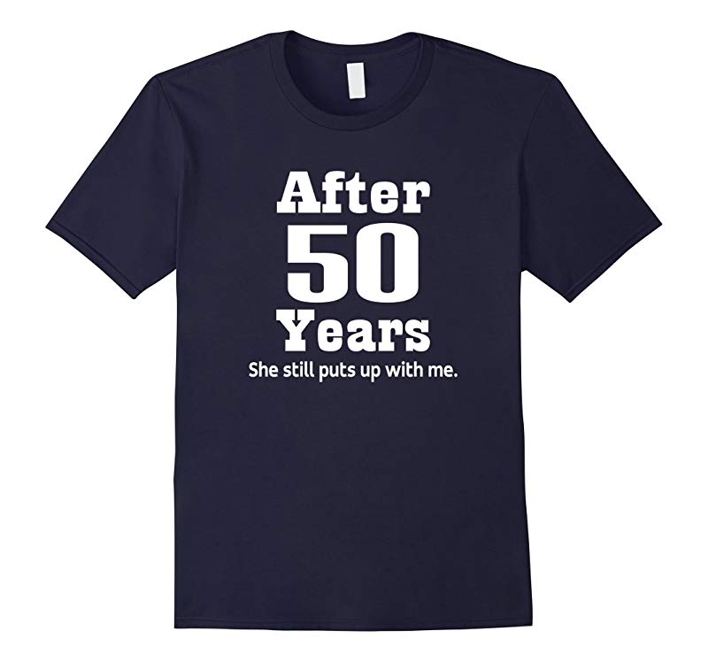 50th Anniversary T-shirt Funny Mens Party Photo Tee-RT