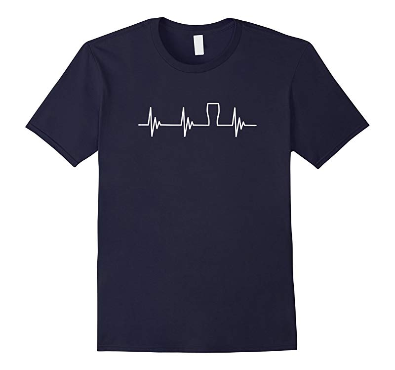 Beer T-Shirt Funny Novelty Heartbeat Craft Beer Brewing-RT