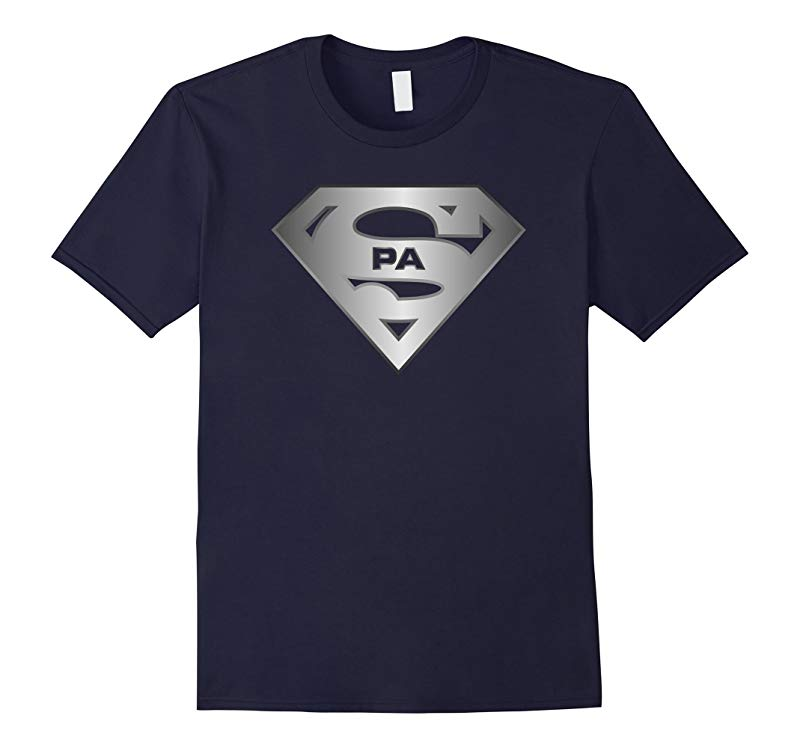 Super Pa T-Shirt Tee Shirt for Father Dad Daddy Papa Pops-RT