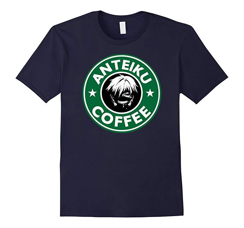 Anteiku Coffee Tokyo Ghoul Parody T-Shirt-TD