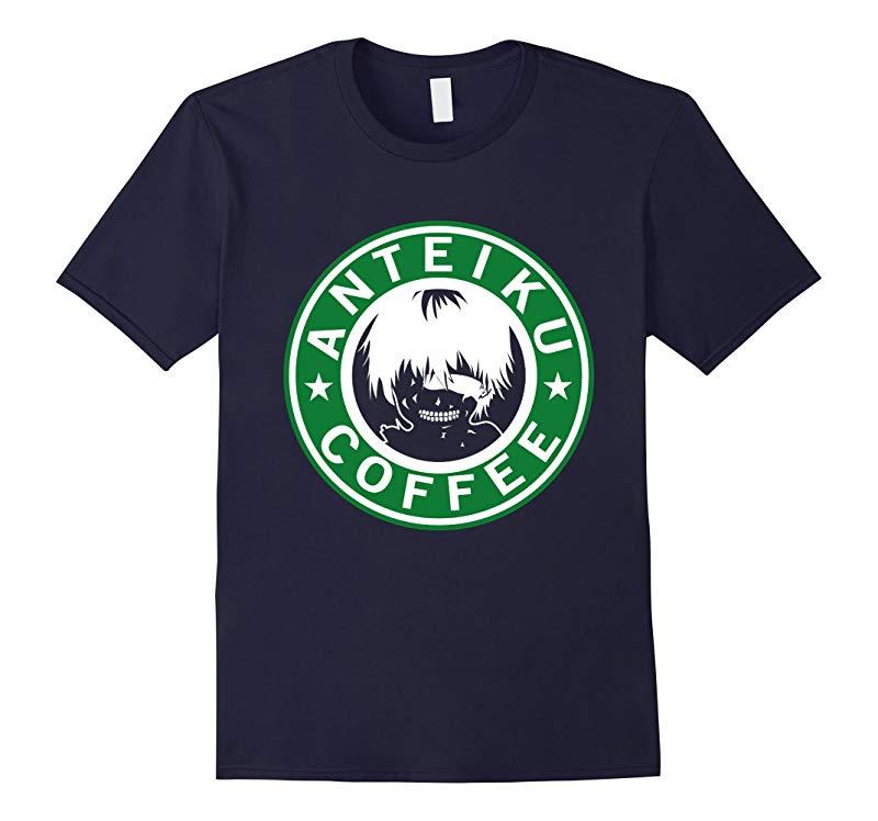 Anteiku Coffee Tokyo Ghoul Parody T-Shirt-RT
