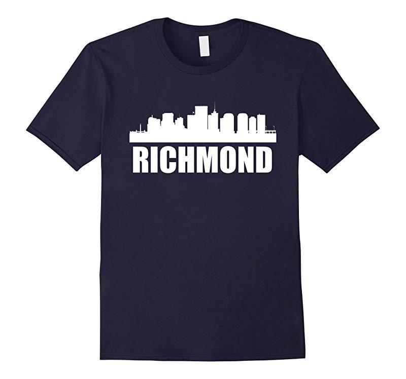 Skyline Of Richmond VA T-Shirt-RT