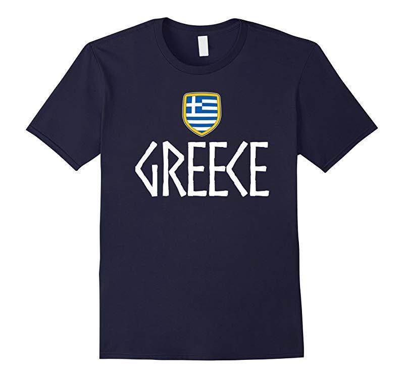 GREECE Vintage T-shirt Greek Flag Vacation Souvenir Travel-RT
