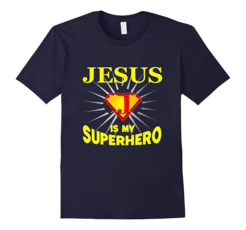 New - Jesus Is My Superhero T-shirt-RT