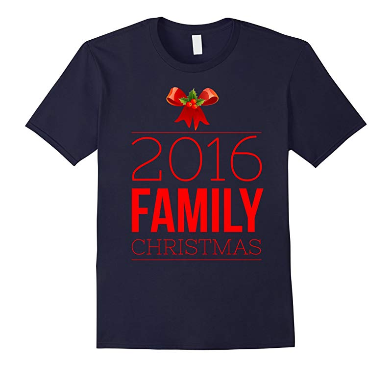 2016 Family Christmas T-Shirt-RT