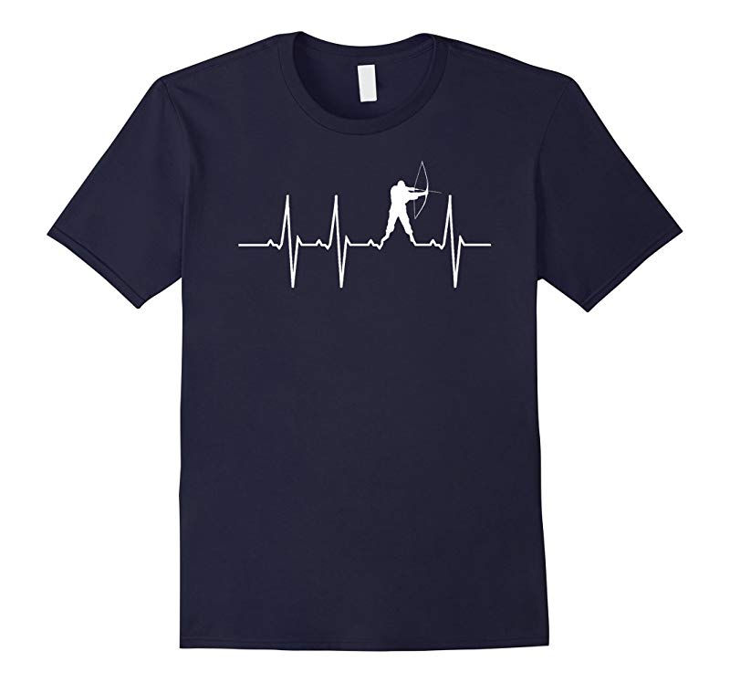 Archery Hearbeat Bow Hunting T-Shirt-RT