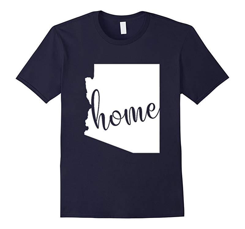 Arizona Home State Map Shirt AZ State Gift-RT