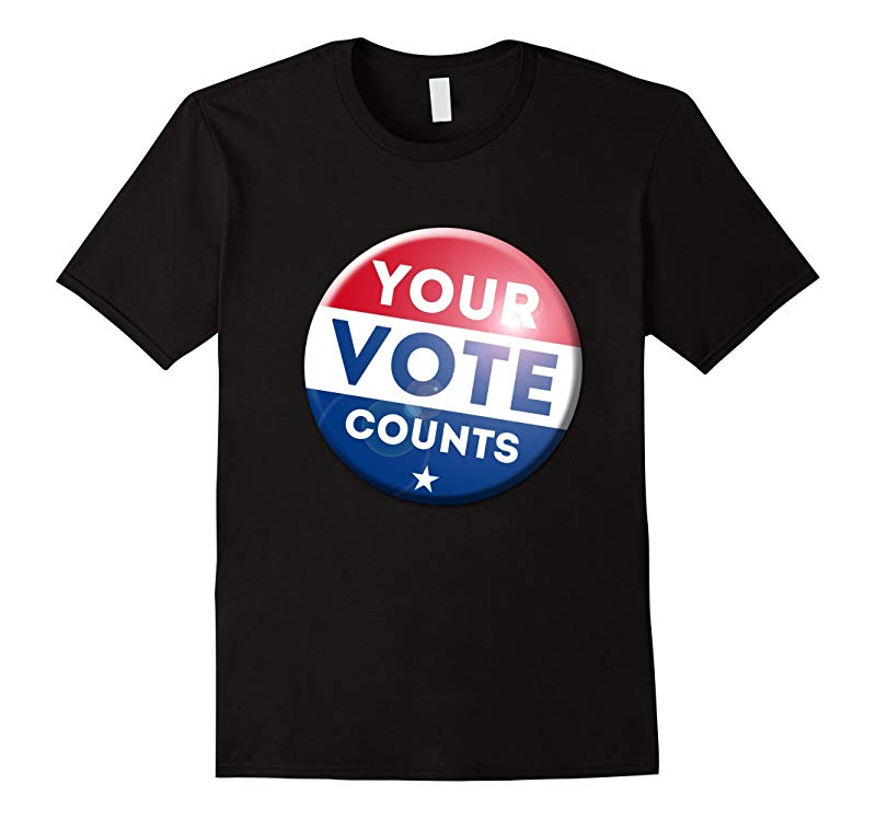 Your Vote Counts Election T-Shirts US US Trump USA Hillary-RT
