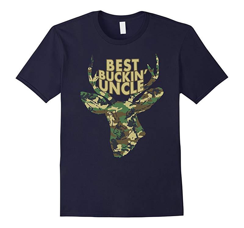 Best Buckin' Uncle T-Shirt Deer/Buck Hunter Tee Gift Idea-ANZ
