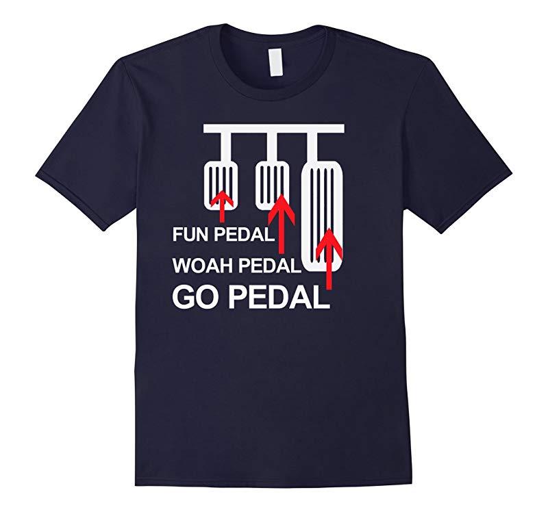 Funny Manual Transmission Shirt Man Pedal Funny Car Shirts-Art