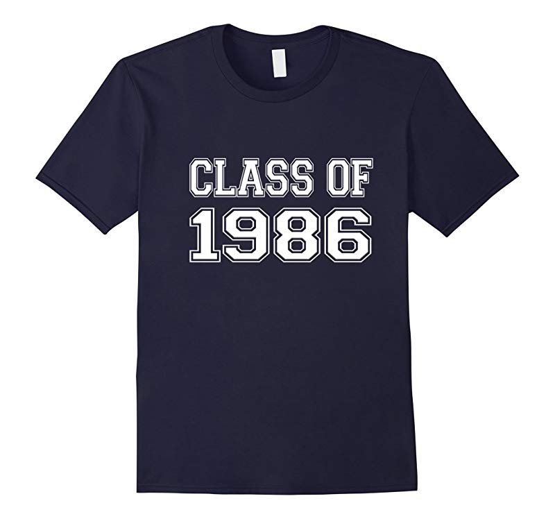 Class of 1986 High School College 30th Reunion T Shirt Fun-RT