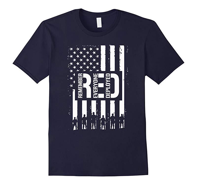 R.E.D Friday TShirt RED Friday Military T Shirt-4LVS