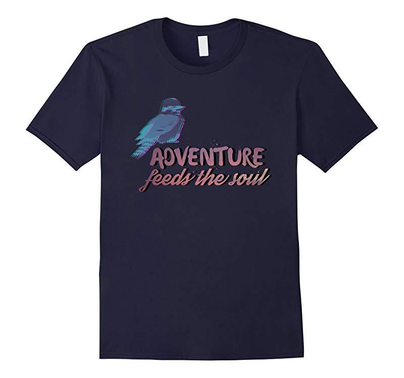 Adventure feed the soul - Hiking explorer adventurer tee-RT