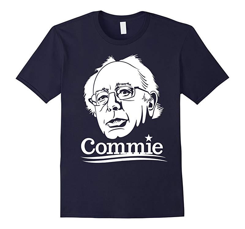 Anti Bernie Sanders Commie 2016 Funny Election T-Shirt-RT