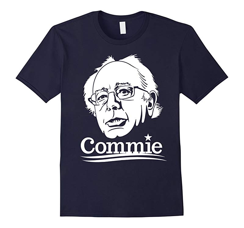 Anti Bernie Sanders Commie 2016 Funny Election T-Shirt-BN