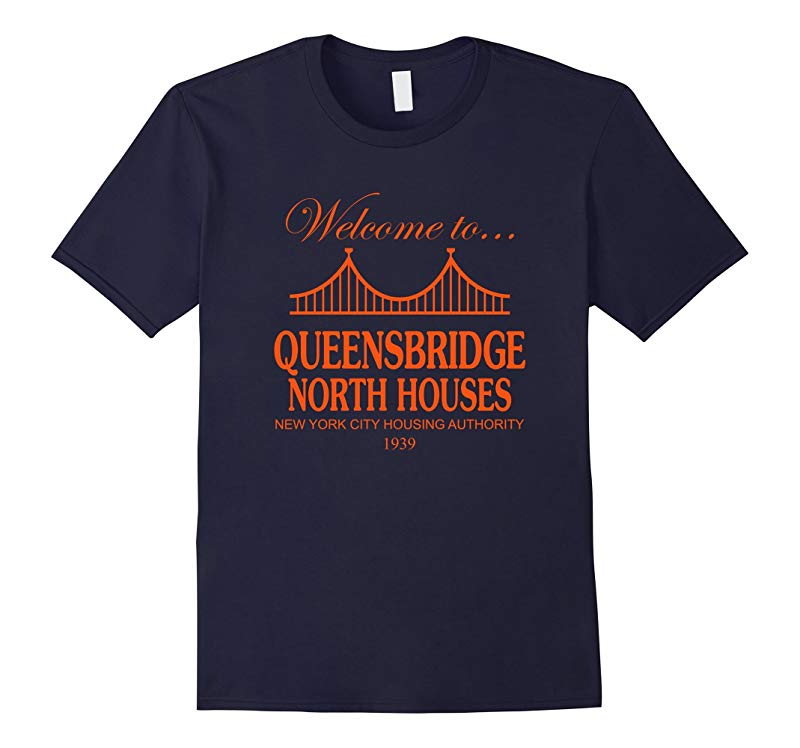 Welcome to Queensbridge North Houses T-Shirt-CD