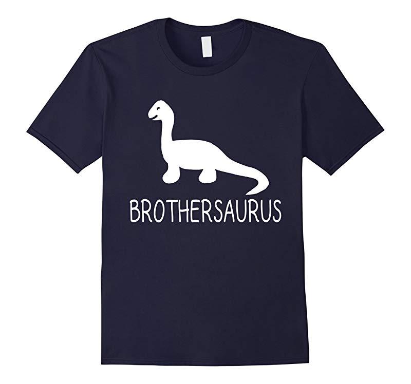 BROTHERSAURUS Fun Big or Little Sibling Dino Family T Shirt-RT