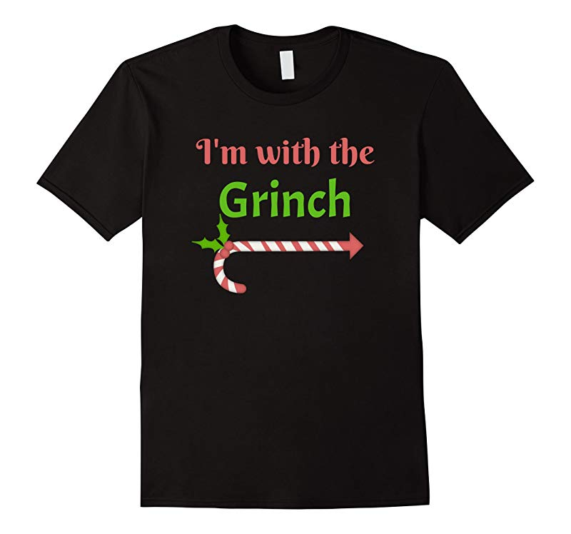 I'm with the Grinch T shirt Christmas Shirts-ANZ