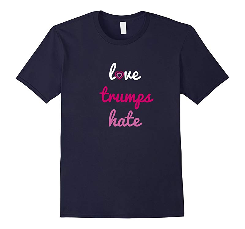 Love Trumps Hate Tee Shirt-RT