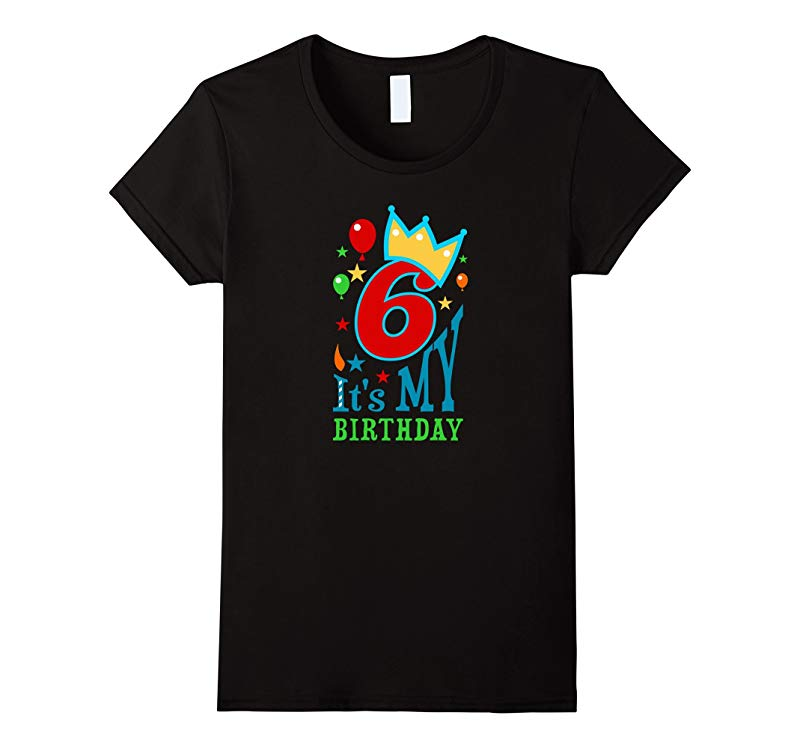 Birthday shirt for girls & boys age 6 - six year old gift T-BN