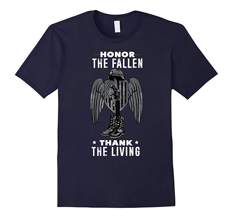 Honor The Fallen Thank The Living T-Shirt-RT