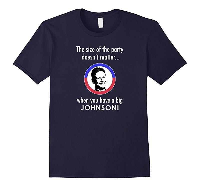 Gary Johnson for President 2016 T Shirt  Big Johnson-RT