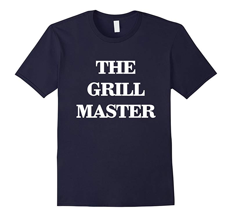 The Grill Master Fathers Day Tee Shirt-RT