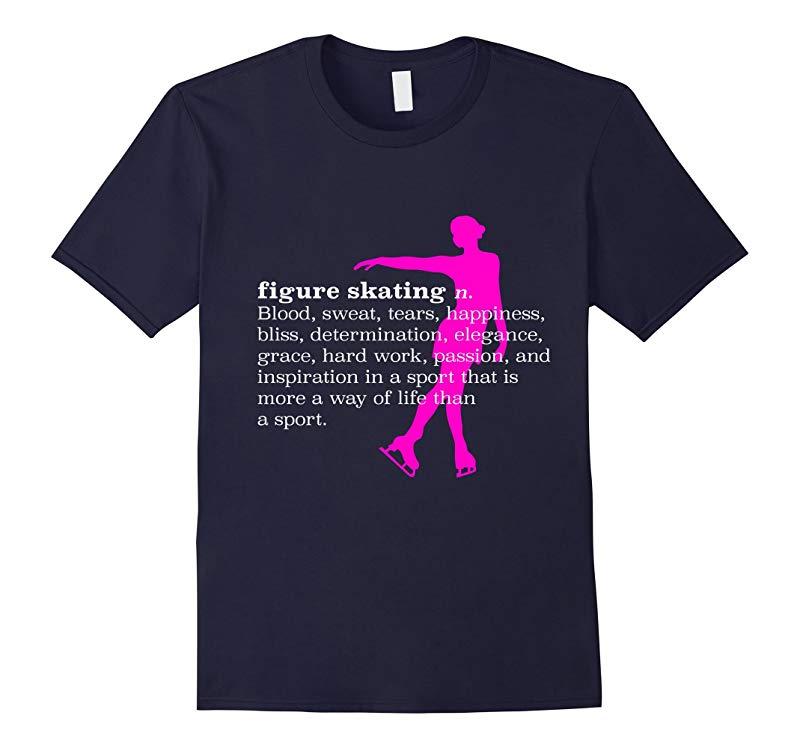 Figure Skating Definition - T-Shirt-RT